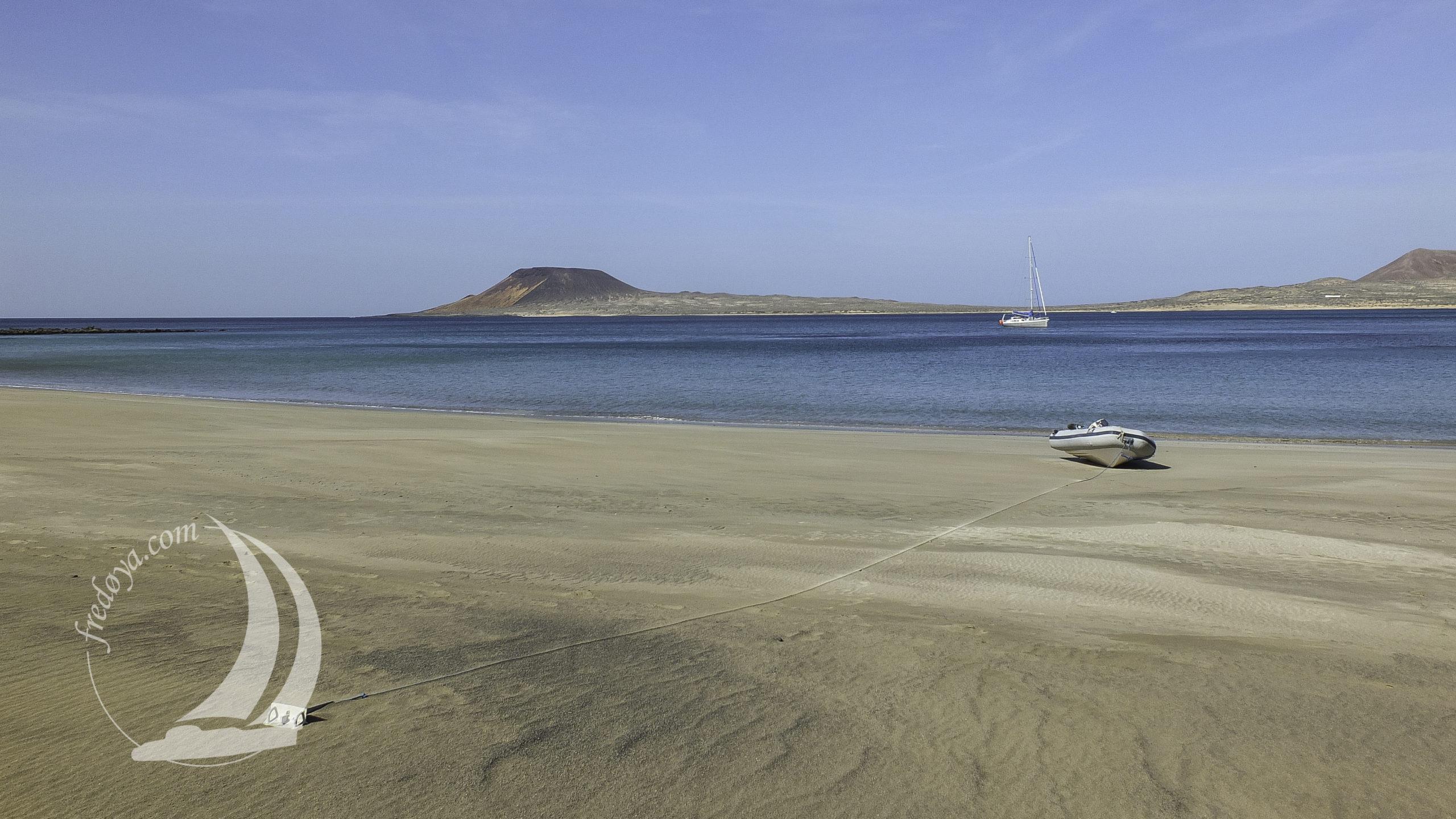 La plage de la Graciosa