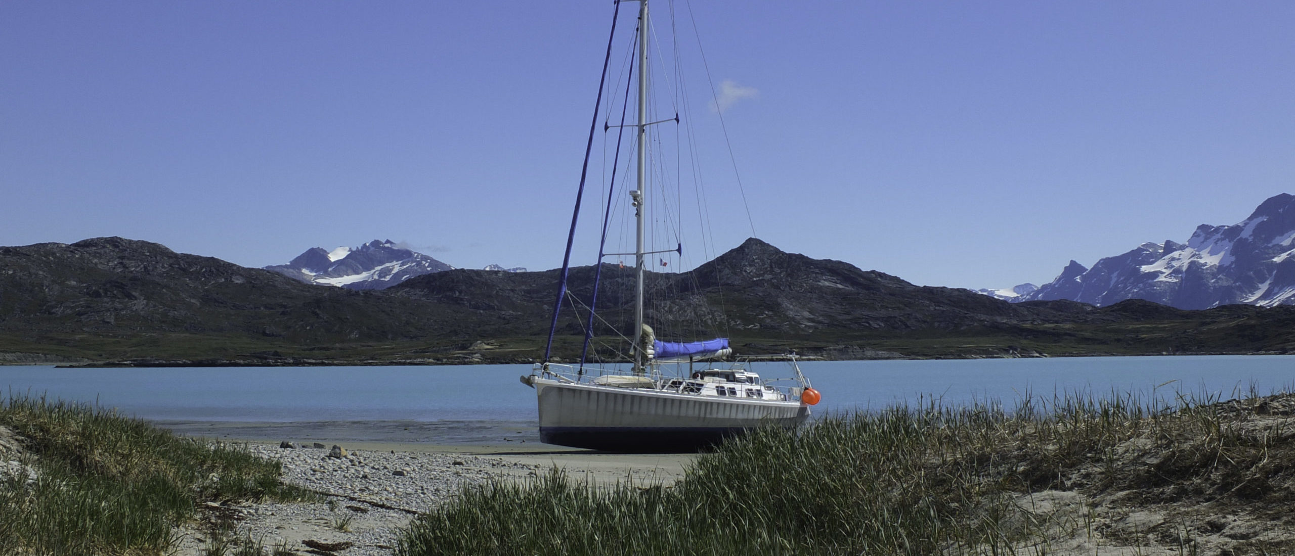 Echouage au Greenland Summer 2016